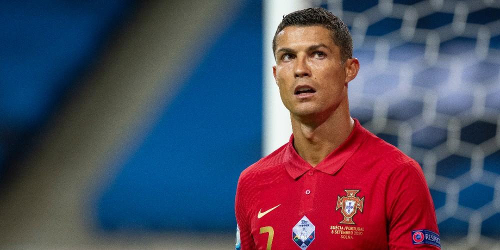 Foto de Cristiano Ronaldo, quien cobra una fortuna por publicidad en Instagram.