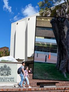 Foto de la Universidad Javeriana y los Andes, dos de las mejores de Colombia.