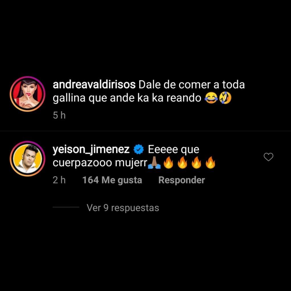 Instagram: @andreavaldirisos