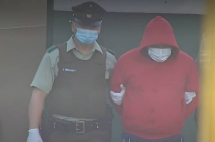 Diego Ruiz Restrepo, detenido en Chile por 7 homicidios
