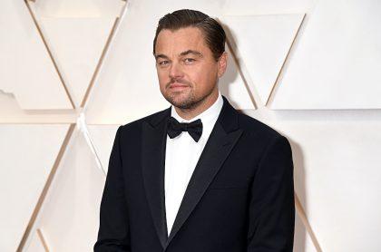 Leonardio DiCaprio en los premios Oscar de 2020 para ilustrar nota sobre teoría conspirativa de su muerte