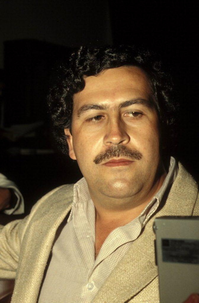 Getty / Pablo Escobar sigue siendo venerado por algunos.