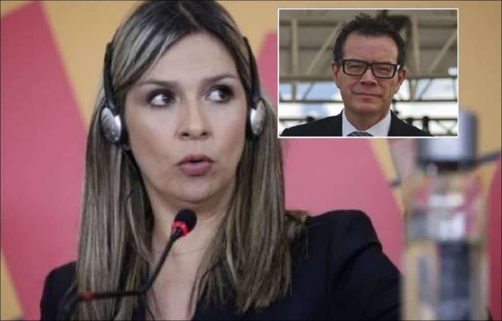 Vicky Dávila y Vladdo / Fotos: AFP y Blu Radio