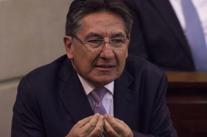 El exfiscal general Néstor Humberto Martínez.