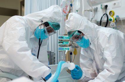 Imagen de paciente, que ilustra nota de clínica, en Valledupar, dijo que hombre aún vivo había muerto