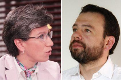 Pelea de Carlos Fernando Galán y Claudia López por el POT
