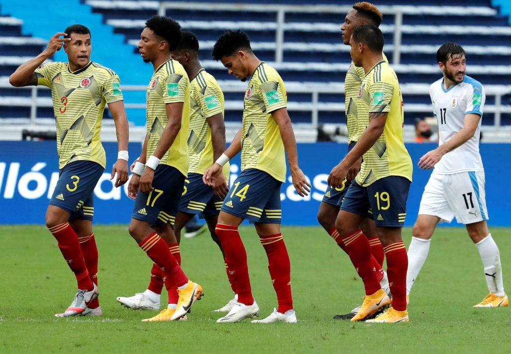 Colombia perdió 0-3 de local ante Uruguay / EFE