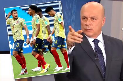 Carlos A. Vélez critica a Selección Colombia por caída con Uruguay. Fotomontaje: Pulzo.