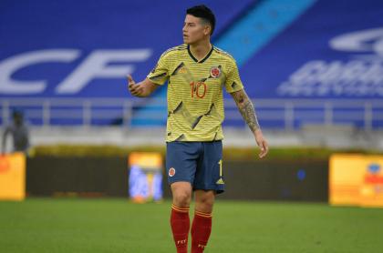 James Rodríguez, jugador de la Selección Colombia, gana más de 4 millones de euros con el Everton.