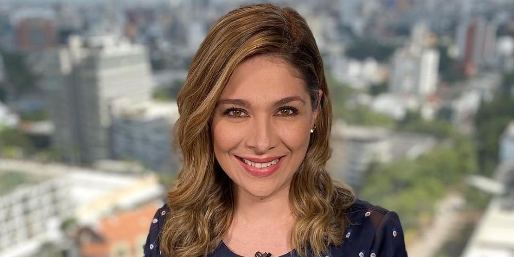 Foto de Ana Milena Gutiérrez, reemplazo de Vanessa de la Torre en Noticias Caracol.