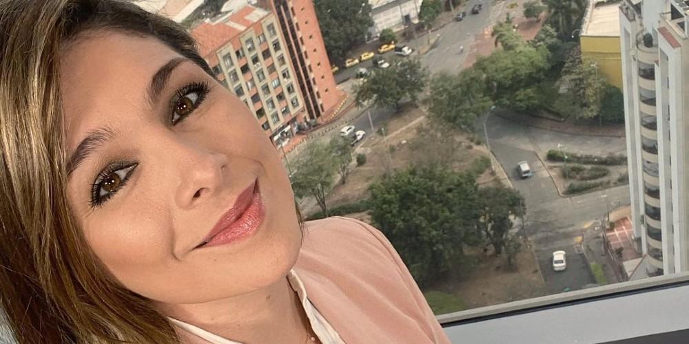 Foto de Ana Milena Gutiérrez, la nueva integrante de Noticias Caracol.