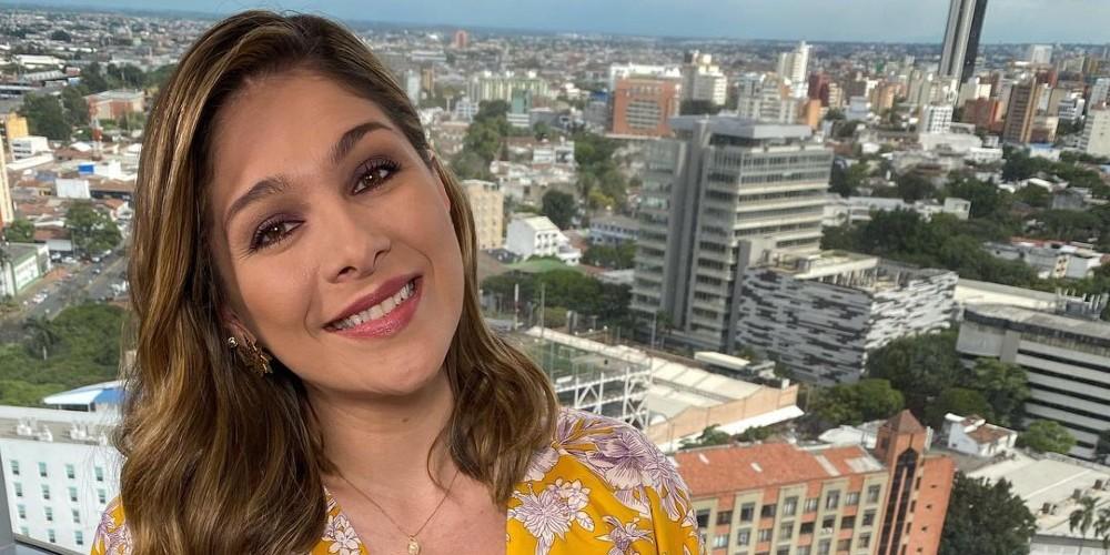 Foto de Ana Milena Gutiérrez, quien reemplazó a Vanessa de la Torre.