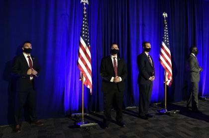 El Servicio Secreto se encarga de la seguridad del presidente de Estados Unidos.