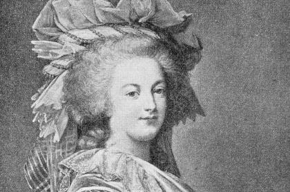 María Antonieta, reina francesa de la que subastaron un zapato por más de 51.000 dólares.