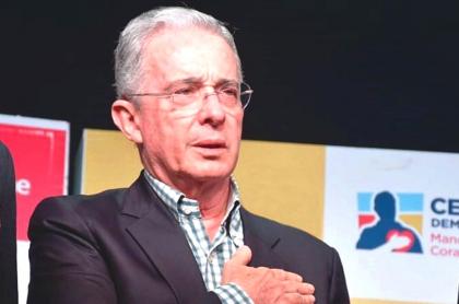 Tomás Uribe sería el candidato presidencial de Álvaro Uribe Vélez. Imagen de referencia del expresidente.