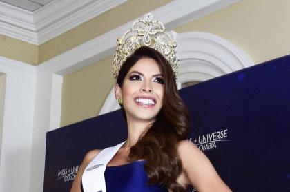 Foto de Laura Olascuaga, la nueva Miss Universe Colombia