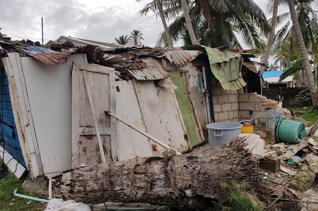 San Andrés, devastada tras el paso del huracán Iota