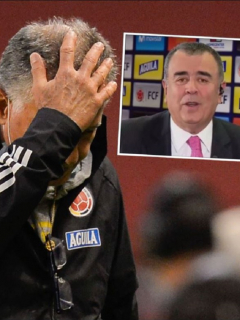 Carlos Queiroz, técnico de Colombia, luego de la goleada ante Ecuador que desató críticas de Javier Hernández Bonnet