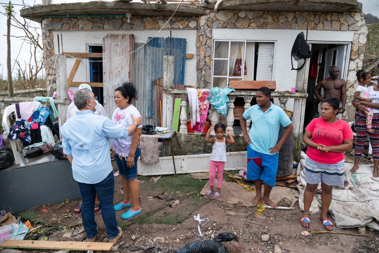 Providencia, destruida por el huracán Iota