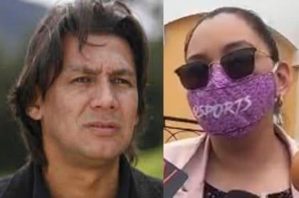 Eduardo Pimentel y Diana Rojas, empresaria que pide que le paguen deuda. (Fotomontaje Pulzo).