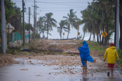 San Andrés y providencia recibieron toda la fuerza del huracán Iota, pero el peligro no ha pasado del todo.