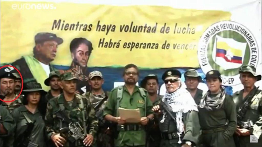 Imagen de desertores de la paz, donde el 'loco Iván' aparece. / Captura de pantalla YouTube