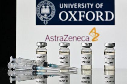 Imagen de ilustración de la vacuna de Oxford y AstraZeneca