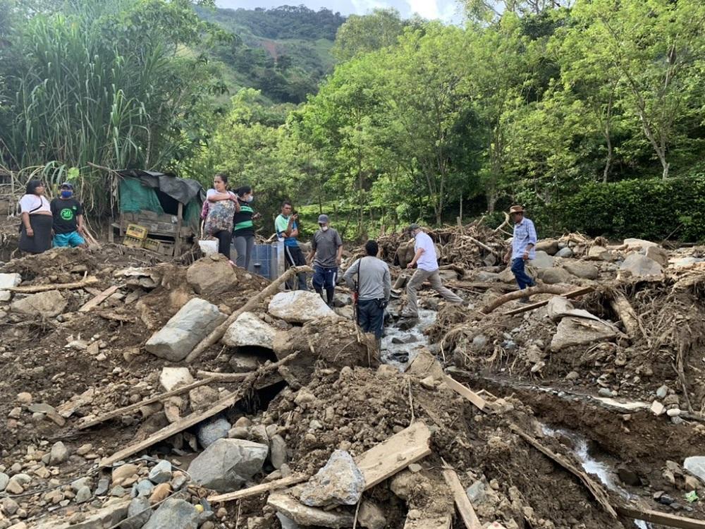 Antioquia, uno de los departamentos más afectados por las lluvias