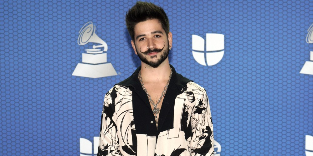 Camilo, en los Grammy Latinos 2020.