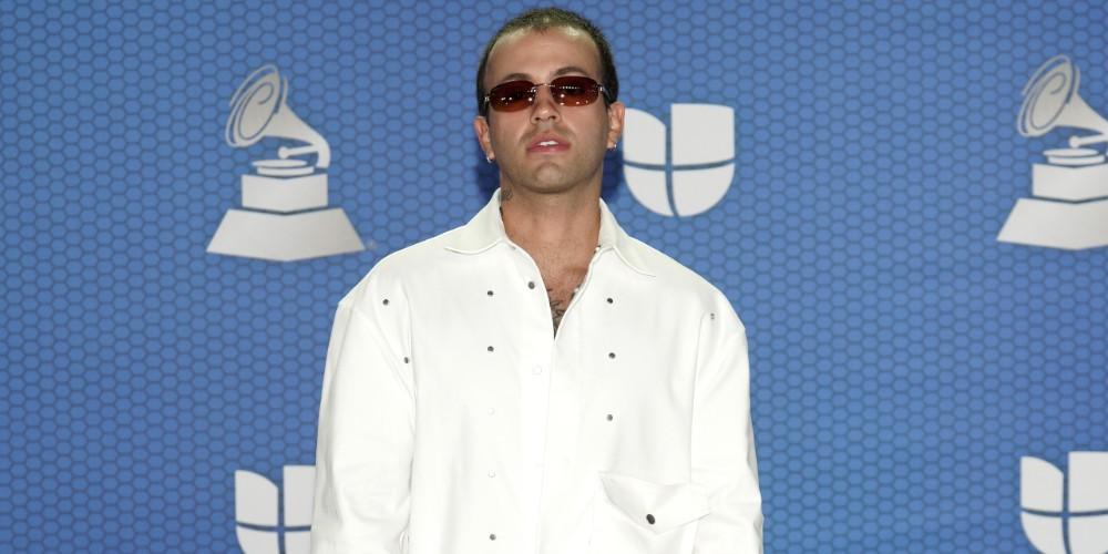 Feid, en los Grammy Latinos 2020.