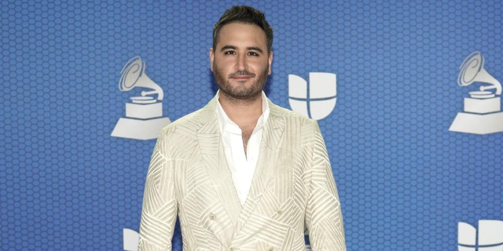 Jesús Navarro, de Reik, en los Grammy Latinos 2020.