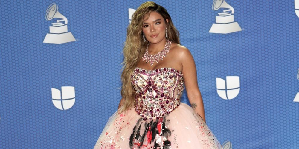 Karol G, en los Grammy Latinos 2020.