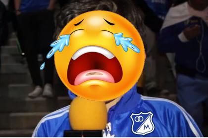 Memes por la eliminación de Millonarios en Copa Colombia. Meme de Twitter
