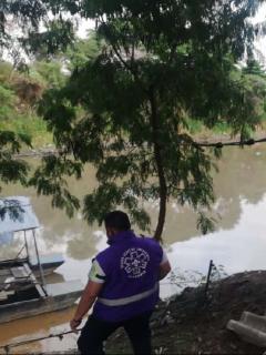Buscan a niño de 13 años que cayó en el río Cauca, en Cali