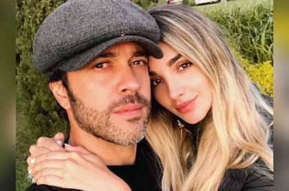 Foto de Juan Manuel Mendoza y Melina Ramírez, quienes se reunieron con ex de él
