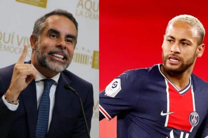 El senador Armando Benedetti se comparó con Neymar en una entrevista tras llegar a partido Colombia Humana.