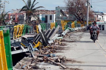 Fotos de Providencia luego del paso del Huracán Iota.