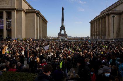 París, Francia, durante la pandemia del coronavirus.
