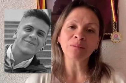 Dilan Cruz y mamá de Dilan Cruz, que habla de él un año después de su muerte