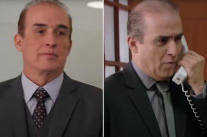 Luis Eduardo Motoa, Carlos Alberto Franco en 'Padres e hijos', a propósito de su cambio extremo y cómo luce hoy.