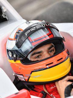 Sebastián Montoya, hijo de Juan Pablo Montoya que sufrió un aparatoso accidente en la Fórmula 4