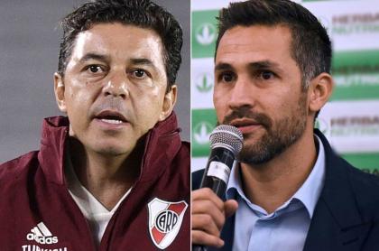 Yepes estaría buscando a Gallardo para reemplazar a Queiroz. Fotomontaje: Pulzo.