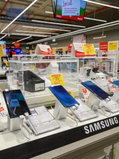 Samsung sigue liderando el mercado de celulares, concentrando el 33 % de ventas en el mundo.