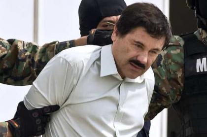 'El Chapo' Guzmán presentado a la prensa en 2014 para ilustrar nota sobre las esposas del narcotraficante
