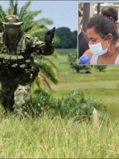 Esposa de Jaider Díaz culpa a un soldado de matar al campesino y Ejército asegura que hubo una asonada en Tarazá, Antioquia.