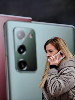 Ventas de celulares en Colombia: Foto del Galaxy Note 20.