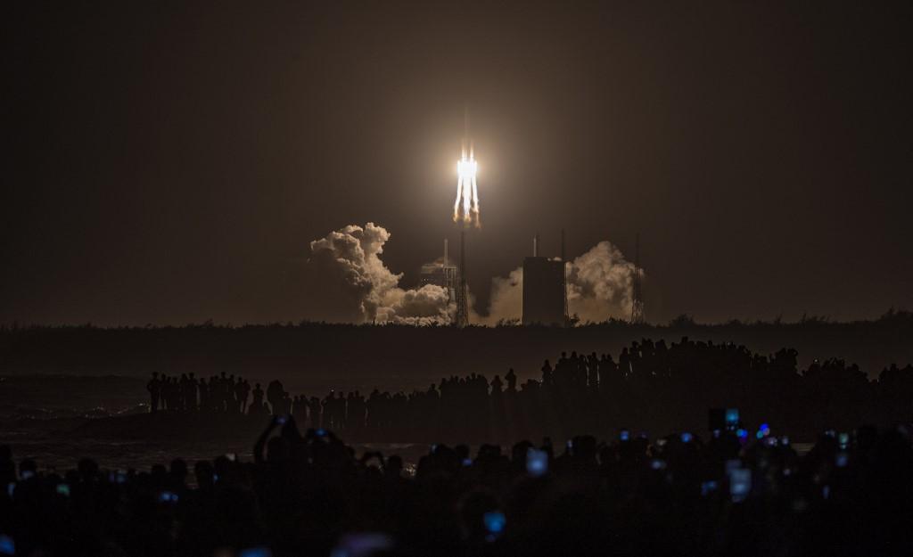 Esta misión a la Luna no va tripulada / AFP.