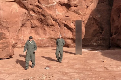 La mayoría de hipótesis sobre el monolito de Utah se basan en la ciencia ficción.