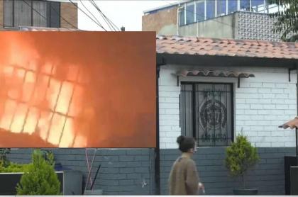 CAI de San Mateo, en Soacha, donde se presentó un incendio que mató a 9 jóvenes
