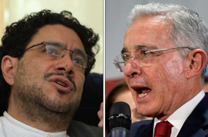 Iván Cepeda y Álvaro Uribe